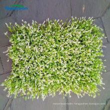 fake green artificial foliage wall decoration