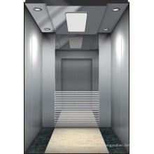 Mrl Commercial Gearless Vvvf Пассажирский лифт без машинного помещения