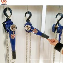 herramientas de elevación de la construcción herramientas de elevación manual de la polea de cadena polipasto bloque de palanca de 6 toneladas