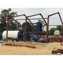ambiental e segurança 100% resíduos de plástico para refinar a máquina da máquina de óleo combustível usado trocadores de pneus refinaria de petróleo bruto usado en