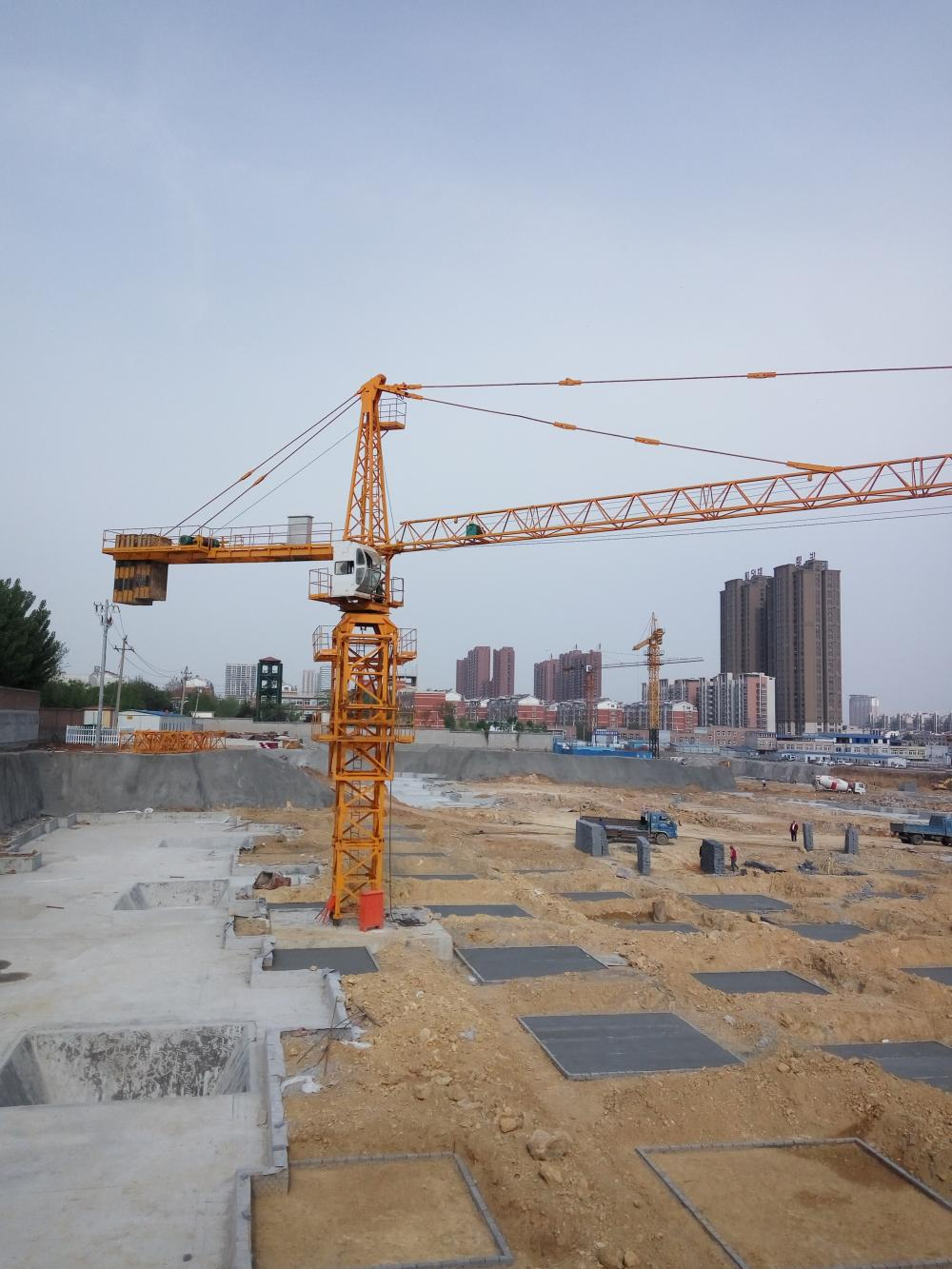 Tower Crane 32m Height 4ton Load Capacity Best Price