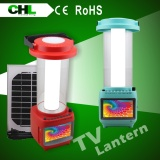 CHL new portable solar light price with tv and radio