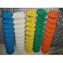 China Valla de eslabones de cadena galvanizada barata para la venta (malla de alambre del diamante)