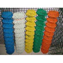 China Cheap Galvanized Chain Link Fence for Sale (diamond wire mesh)