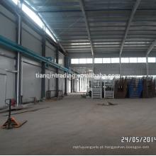 Fábrica de alho no condado de Jinxiang