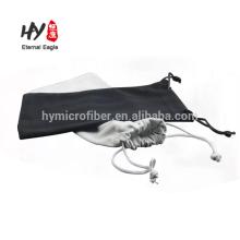 Bolsas de gafas con cordón de microfibra con logotipo personalizado
