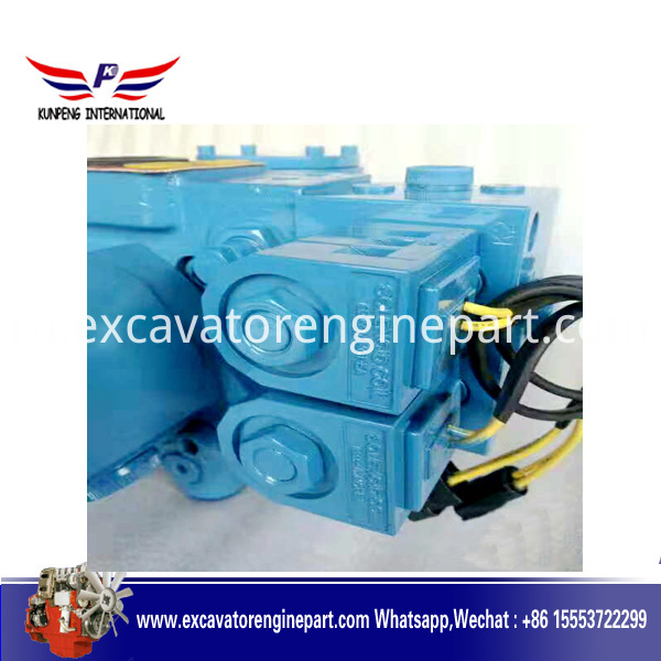 Excavator Hydraulic main Pump AP2D25, Main Pump Assembly AP2D25 with solenoid valve For Doosan