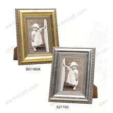 Gesso Wooden Frame with Foil