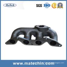 Maßgeschneiderte Ggg50 Duktile Gusseisen Auspuffkrümmer von China Gießerei