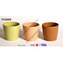 Glazed Flower Pot for Wholesale