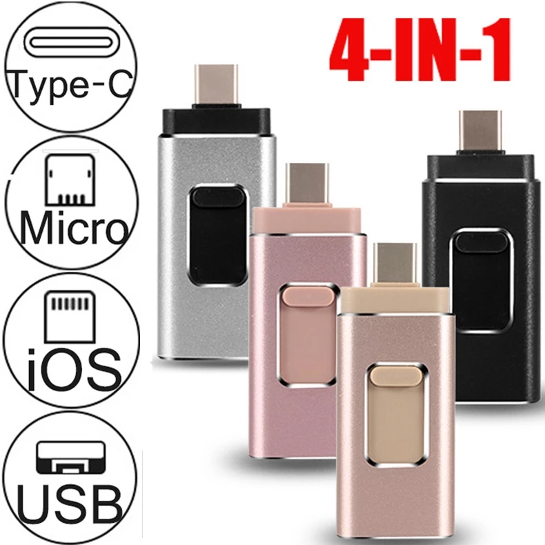 Ios Otg Usb Flash Drive The First 4 In 1 Pendrive For Iphone Ios