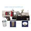 Machine stable en plastique de 100 tonnes Sandard avec la machine de moulage par injection