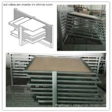 Sliding Panel Sample Tile Metal Display