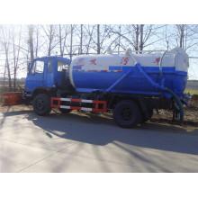 Dongfeng 4X2 esgoto suga caminhão / 10cbm caminhão de tanque de sucção de esgoto