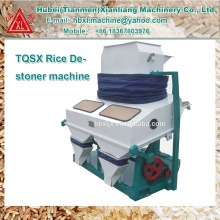 Africa widely used separated paddy rice destoning machine
