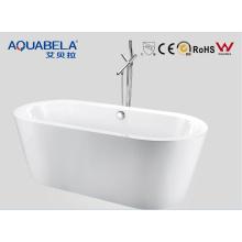 Thin Edge Bathroom autonome acrylique Slim Bathtub 1700mm