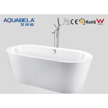 Freestanding Bath Tubs with Thin Edge Roomy Space Nice Shape (JL609)
