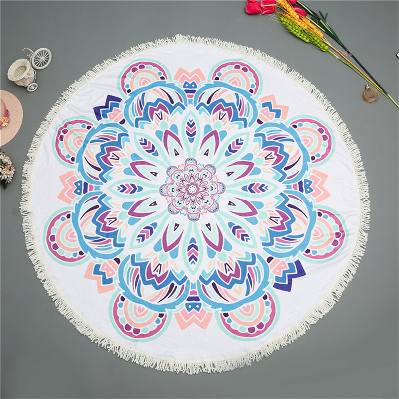 Buy Dreamcatcher and Donut Round Beach Towel Nz