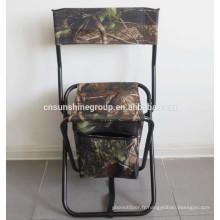 Vente chaud extérieur plat pliage sac isotherme de pêche avec le fabricant de chaise