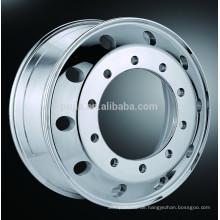 Geschmiedete Lkw-Aluminium-Felgen 22.5 * 8.25 Poliert