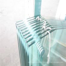Panneaux de verre pour table basse, table à manger en verre décoratif