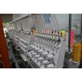 Máquina de bordado de la tapa del color de la cabeza 9 o 12 de alta velocidad 6 para la ropa acabada de la camiseta plana Bordado 3D (WY906C / WY1206C)
