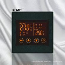 Interruptor táctil del termóstato del suelo radiante Marco plástico (SK-HV2300L8-M)