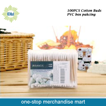 Hot Sale Wood Stick Cotton Buds
