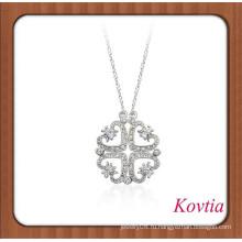Уникальный дизайн слоя кристалла сердце кулон ожерелье bangladeshi свадебные украшения
