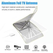 Transparent Long Distance Flat Digital Indoor HDTV Antenna with Amplifier