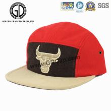 2016 novo estilo Era lã Snapback Campper Cap com bordado