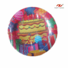 Disposable Paper Plate For Birthday