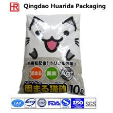 Empaquetado de la basura del gato plástico / embalaje de la litera del gato