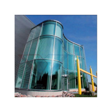 Double Curved Tempered Insulated Glass for Buildings