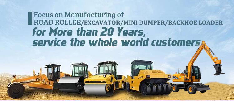 6 Ton Wheel Excavator XN75B