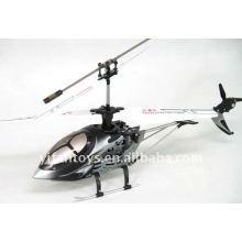 Helicóptero de control de radio 4CH girocompás metálico con luces