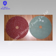 Disco de polimento de disco de fibra de óxido de alumínio