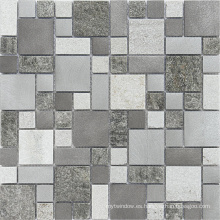 8mm Rusty Slate Mosaico, Mosaico Azulejo, Mármol Blanco Mosaico, Mosaico De Vidrio