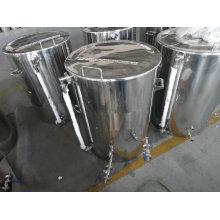 Bouilloire de 75 gallons avec verres tangentiels et verre de visite