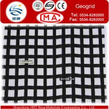 Resistência à tração 30-30 Geogrid da fibra de vidro pela tecnologia de tecelagem
