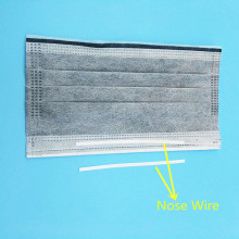 Plastic Coated Single Metal Nose Wire Untuk Masker