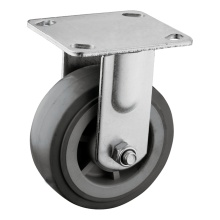 "Rigid Caster with 5 x 2"" Polyurethane Wheel"