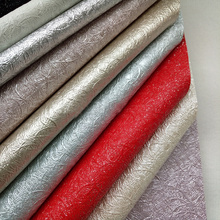 Pearl glitter Colour high quality pu leather