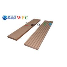 Perfil de contorno da placa decorativa da prancha plástica plástica de madeira de 63X10mm WPC
