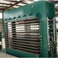 Máquina de estratificação da madeira compensada da imprensa quente