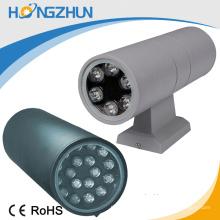 A venda AC85-265V conduziu a luz de parede do jardim IP65 lâmpada do poder superior