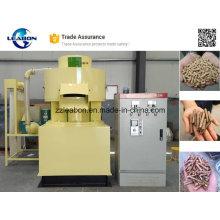 Máquina de producción de pellets de madera dura de biomasa de ce aprobada por 1-2T