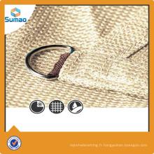 Voile d'ombrelle triangulaire fabriquée en Chine et fournie par sumao