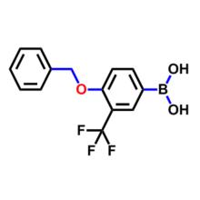 4-Benzyloxy-3-(trifluoroMethyl)phenylboronicacid CAS 1245014-05-4