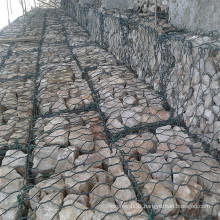 Gabion Box with PVC Hexagonal Wire Netting